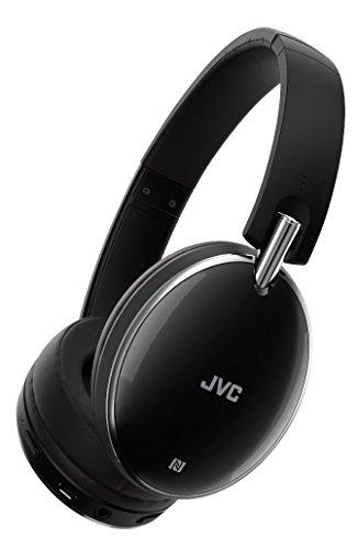 JVC HA-S90BN-B-E Negro Circumaural Diadema Auricular - Auriculares (Circumaural, Diadema, Inalámbrico y alámbrico, 8-25000 Hz, 1,2 m, Negro)