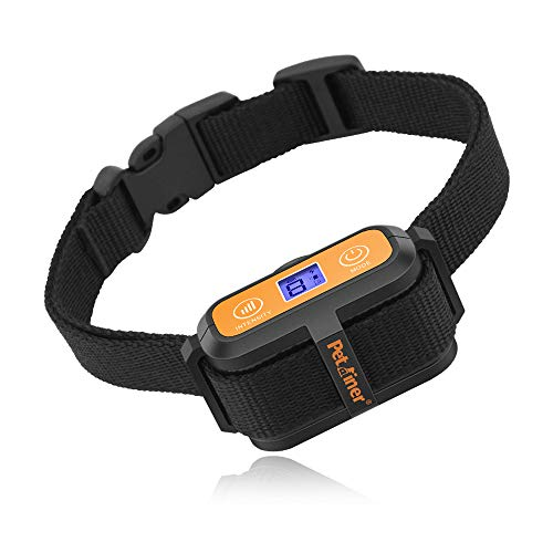 Petrainer Dog Bark Collar Waterproof No Bark Collar for Dogs with Beep Vibration and No Harm Dog Shock Collar Smart Detection Anti Bark Collars for Small Medium Large Dogs