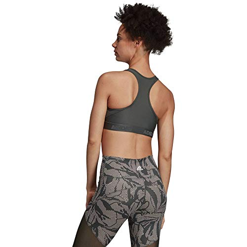 Adidas Alphaskin Sport-bh voor dames, kaki, zwart ondergoed
