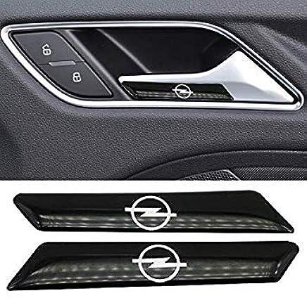 Sellify 2pcs engomada del Coche Auto Emblema Decal para Opel Zafira a b Astra h g j k f Mokka Corsa