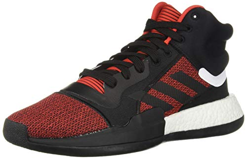 adidas Men's Marquee Boost, Active red/Black/aero Blue, 11 M US