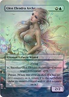 Glen Elendra Archmage - Casual Play Only - Customs Altered Art Foil