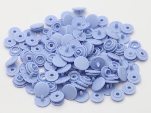 紗や工房 プラスチックスナップボタン(T-3)30組(10mm パープル) ハンドプライヤー 手芸材料 プラスチック製 ボタン かわいい パーツ