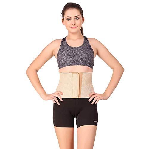 Witzion Abdominal Belt Waist Support Pregnancy belts after delivery C-Section Tummy Trimmer Post Pregnancy Belt Eco (Large)