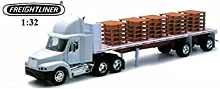 New Ray Freightliner Century With Pallets, 1:32, White