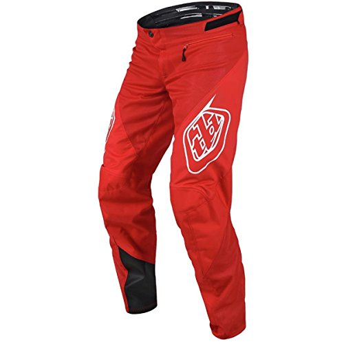 Pantalon TROY LEE DESIGNS SPRINT SOLID Rouge 2018 Taille 28
