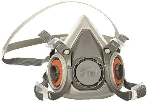 3M 50051131070252 Half Face Piece Respirators 6000 Series, Reusable