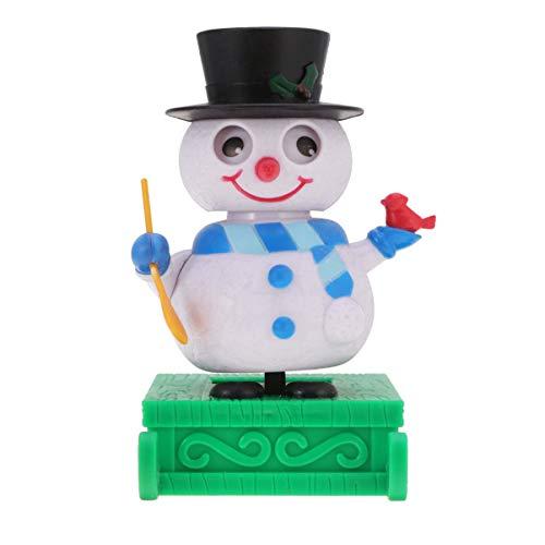 Holibanna Solar Dancing Dashboard Toys Christmas Bobble Head Figure Swing Doll Decorations
