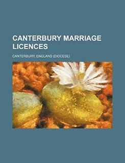 Canterbury Marriage Licences