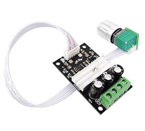 ZTSHBK 12V 24V 28V 3A 80W DC Control de Velocidad del Motor PWM Interruptor de Velocidad Variable Ajustable d