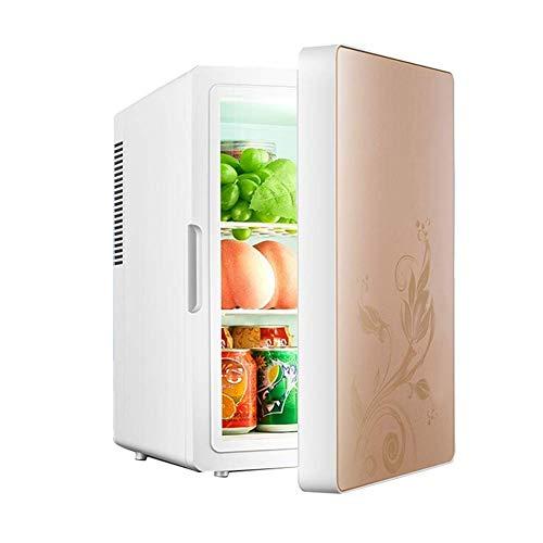 wangt 16L Koelbox, auto elektrische koelkast 12 V 240 V koude box twee kern draagbare vrieskast minikoelkast voor reizen/camping/slaapzalen