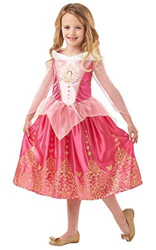 Disney Princess - Disfraz Bella Durmiente Classic DLX Inf, Multicolor, S (Rubies 640714-S)