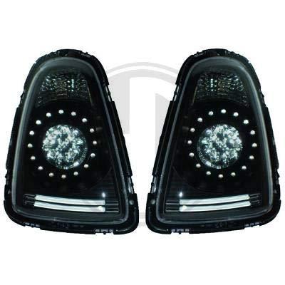 1206998 achterlichten zwart voor Mini One Cooper Clubman type R56/57 2006-2010