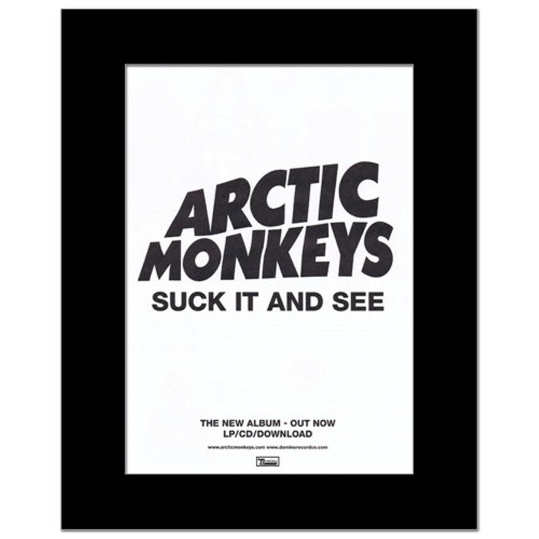 ジェスチャー支店世界の窓ARCTIC MONKEYS - Suck it and See Mini Poster - 28.5x21cm