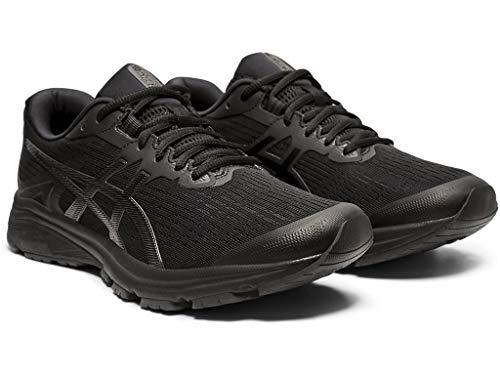 ASICS Men's GT-1000 8 Shoes, 9M, Black/Black