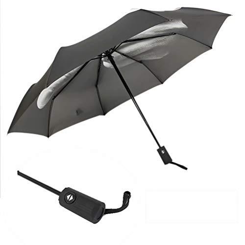 Volautomatische opvouwbare paraplu, gemakkelijk mee te nemen, nieuwe persoonlijkheidsparaplu, wind- en ultraviolette bescherming, paraplu voor tweeërlei gebruik op zonnige en regenachtige dagen