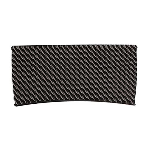 wuwu Fibra de Carbon Abdominales Cubierta de Marco de lámpara de Lectura del Techo Ajuste para Nissan X-Trail 2014-2018 Pegatinas de decoración