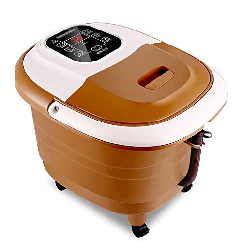 ACKWLF voetenbadje voetenbad Spa Bath Massage voetenbad Bucket Automatische massage shiatsukit alle in een huisje foot Spa massage-instellingen voor voetverzorging voetbad