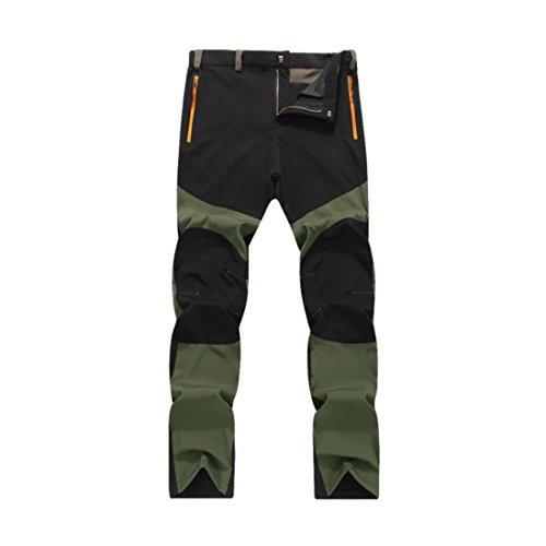 Pantalones de Hombre Impermeable A Prueba de Viento Al Aire Libre Excu