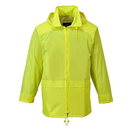 Portwest Classic Rain Jacket Yellow S R