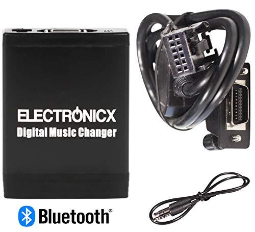 Electronicx Elec-M06-RD4-BT Adaptador de Musica Digital para Coche USB, SD MP3 AUX Bluetooth Kit Mains Libres RD4 Radios