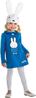 Living Fiction Girl's Miffy Outfit Movie Theme Fancy Dress Toddler Halloween Costume