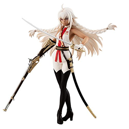 Tamamo no Mae - Police Fox Ver. Action Figure Fate/Extella Link FGO Games 1/7 Anime Girl Collectible Statue