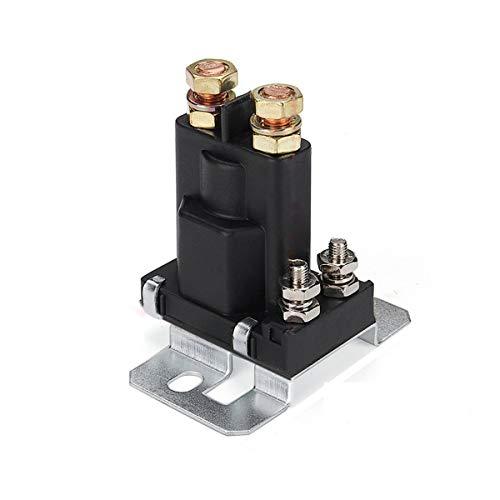 Nihlsen 4 Pin 12V AMP 500A Relé Arrancador de coche Interruptor de encendido/apagado Aislador de batería dual