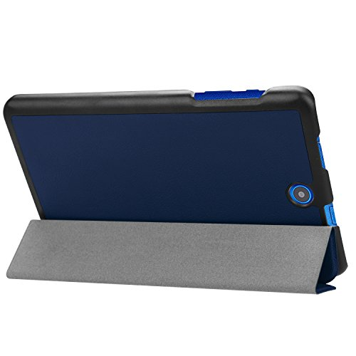 Kepuch Custer Hülle für Acer Iconia One 8 B1-860 B1-850,Smart PU-Leder Hüllen Schutzhülle Tasche Case Cover für Acer Iconia One 8 B1-860 B1-850 - Blau