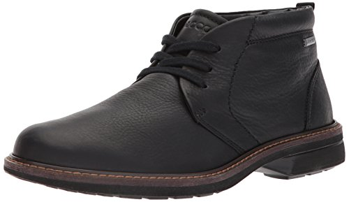 ECCO Men's Turn Gore-TEX Chukka Tie Boot, Black, 9-9.5