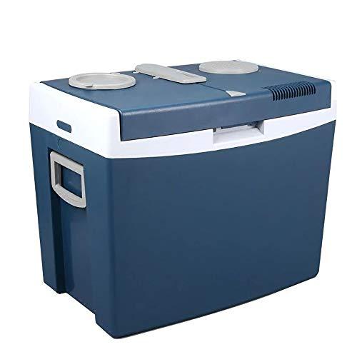 LSY Nevera Coche, Mini Refrigerador Eléctrico 12V / 24V DC Y 120V AC Refrigerador Compacto para Auto RV Camión Furgoneta Camping Y Hogar