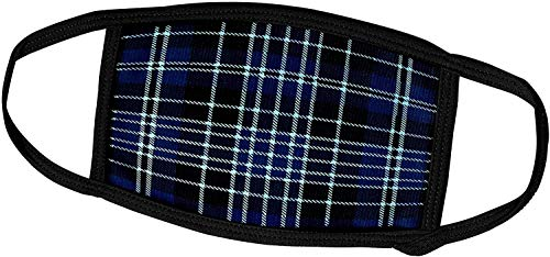 Keyboard cover Russ Billington Patterns - Tartan und Plaid-Bild von Geistlichen oder Priestertum Clan Kilt Scottish Tartan Plaid Pattern-Face Masken
