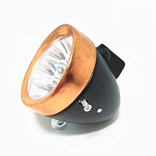 fxwl Fahrradlampe Retro Bike Riding liefert Batterie LED Lights/LED Bike Scheinwerfer/Fahrrad Licht Kupfer/Front Scheinwerfer