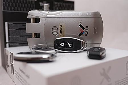 CERRADURA ELECTRONICA DE SEGURIDAD-KEYLESS LOCK WAFU(NVO MODELO W010)