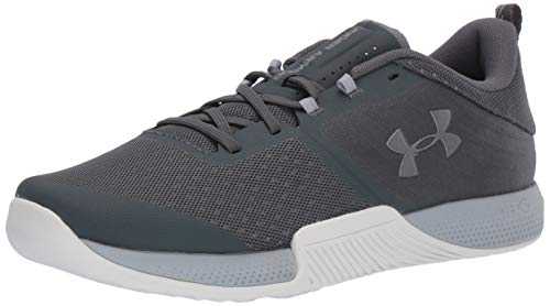 Under Armour UA TriBase Thrive, Zapatillas Deportivas para Interior Hombre, Gris (Pitch Gray/Mod Gray/Metallic Steel (104) 104), 41 EU