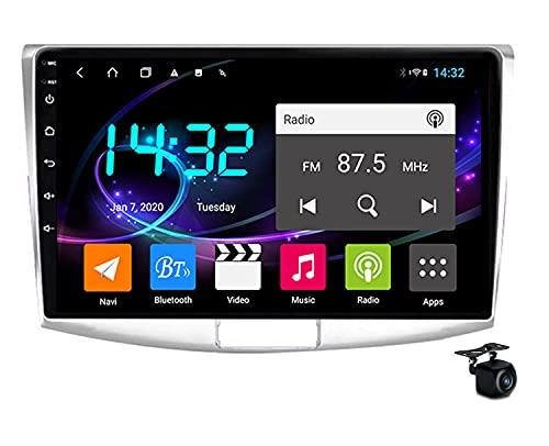 Android 10.0 Car Stereo Radio, 2 DIN Radio per Passat 7 B7 CC 2010-2018 Navigazione GPS unità di Testa da 9 Pollici MP5 Lettore Video multimediale Supporto Ricevitore 4G 5G WiFi Carplay