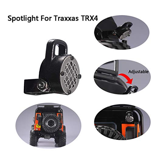 Rc Car Spare, Spotlight for Traxxas Trx4 90046 1/10 1/14 Rc Car Crawler Spare Part, Spotlight