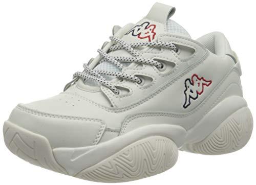 Kappa Damen BOLB Sneaker, 1067 White/Navy,42 EU