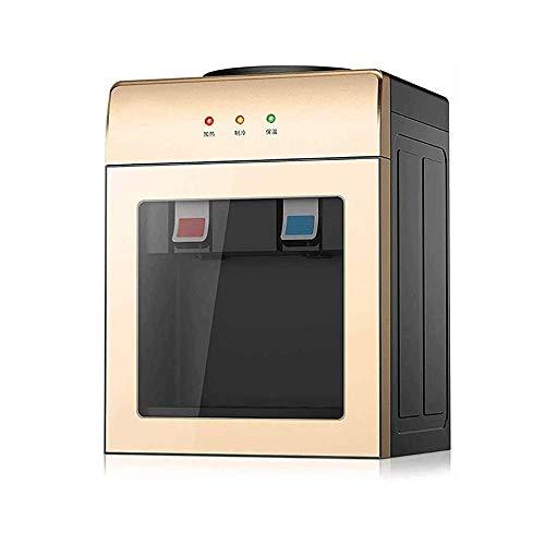 Fuente de agua de escritorio multifunción inteligente escritorio Dispensador de agua 220 fría/caliente/hielo de agua eléctrico for la seguridad del dormitorio ahorro de energía