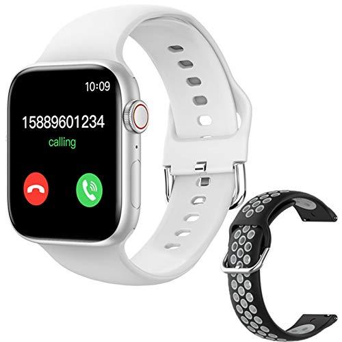 ZGLXZ T800 Smartwatch 1.72 Pulgadas Bluetooth Llamada DIY AIL Aptitud Pulsera Smart Watch para Hombres Y Mujeres PK IWO W46 W56 Series 6 para iOS Android,K