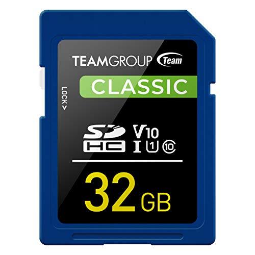 Team SDHCカード 32GB UHS-I U1 V10 読込最大80MB/s 日本国内10年保証 正規品