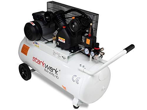 Starkwerk Druckluftkompressor SW 475/10 – 10 Bar – 100L Kessel - 2