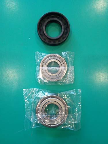 6206ZZ SKF Kit cuscinetti guarnizione para acqua lavatrice 37/×66/×9.5//12 6205ZZ SKF