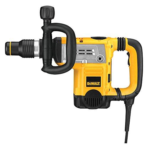 DeWalt SDS-max Meißelha mmer/ Schlagbohrmaschine (1,250 Watt, vibrationsarm, ideal für mittelschwere Meißelarbeiten in Mauerwerk/Stein/Beton, 8-fache Meißelpositionierung) D25831K