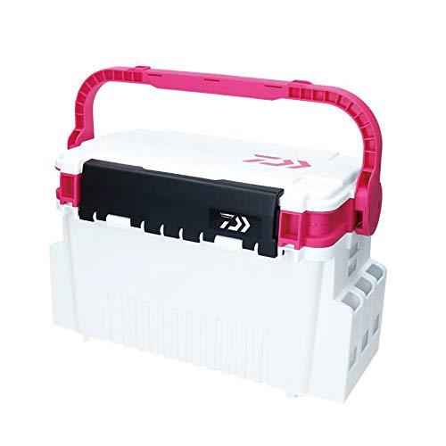 ダイワ タックルボックス TB4000 ホワイト/ピンク