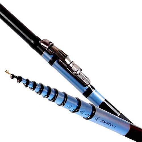 caña de pescar CarbonTelescopic caña de pescar la luz delantera de la caña de pescar peces puesto de hilatura Mar poste de la barra Telescop-6.3m-5.7m-5,1 millones ( Size : 4.5m-3.9m-3.3m )
