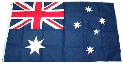 M & M MM Drapeau de l'Australie, résistant aux intempéries, Multicolore, 250 x 150 x 1 cm, 16289