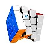 GAN 460 M, 4x4 Cubo Mágico Speed Puzzle de Gans Magnético Cube 460M (sin Stickers)