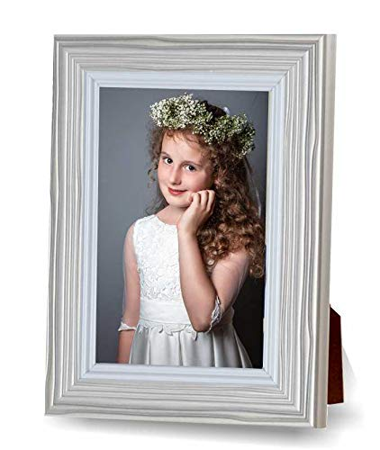 MARCO FOTOS Primera Comunión 10x15 color plata