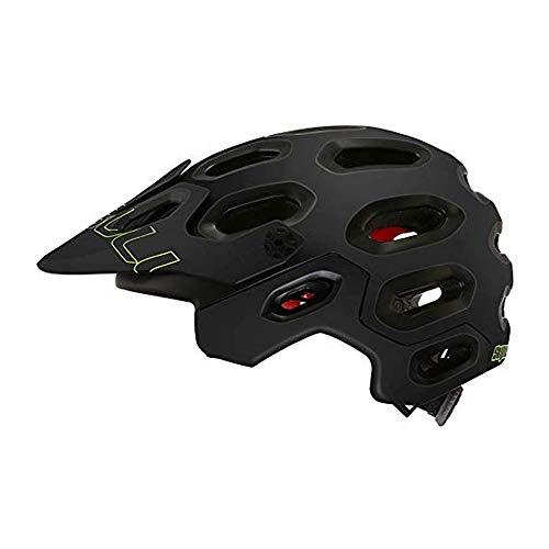 Heemtle Superleichter MTB-Rennradhelm Atmungsaktiver ultraleichter Fahrradhelm Kopfschutz Integral geformte Helme (Schwarz M: 54-58 cm)